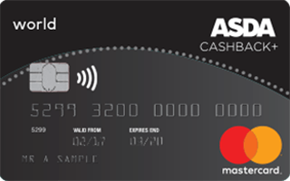 Asda Money Cashback Plus Credit Card Mastercard Review