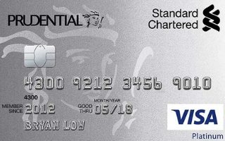 Standard Chartered Prudential Platinum Credit Card Review