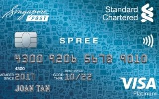 Standard Chartered Spree Credit Card Review