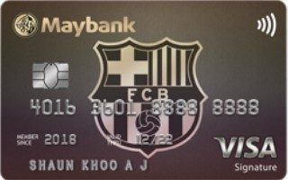 Maybank FC Barcelona Visa Signature Card Review