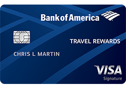 Bank of America® Travel Rewards credit card logo