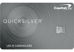 Capital One® Quicksilver® Cash Rewards Credit Card logo