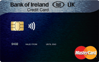 Bank of Ireland UK Matched Mastercard review April 2020