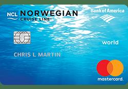 Norwegian Cruise Line® World Mastercard® logo
