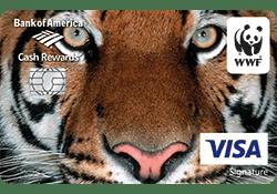 World Wildlife Fund Credit Card logo