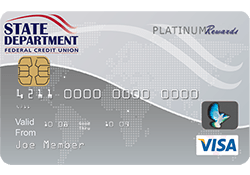 SDFCU Savings Secured Visa Platinum Card