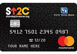 Stand Up To Cancer® Credit Card logo