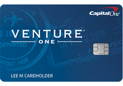 Capital One® VentureOne® Rewards Credit Card logo