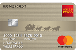 Wells Fargo Business Secured Credit Card logo
