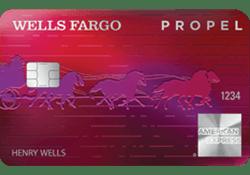 Wells Fargo Propel American Express® Card logo
