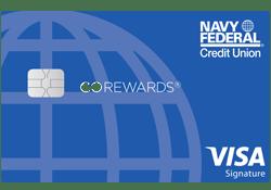 Navy Federal Go Rewards Card logo