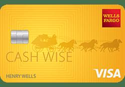 Wells Fargo Cash Wise Visa® Card logo