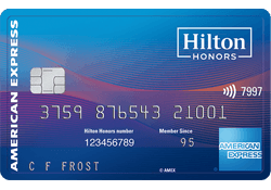 Hilton Honors American Express Surpass® Card logo