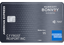 Marriott Bonvoy Business™ American Express® Card logo