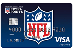 NFL Extra Points Credit Card logo