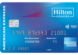 Hilton Honors American Express Card logo