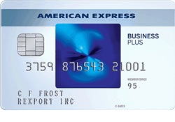 The Blue Business® Plus Credit Card from American Express logo