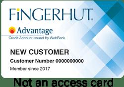 Fingerhut FreshStart® Credit Account