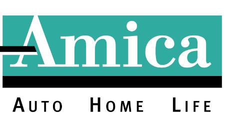 Amica motorcycle insurance logo