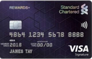 Standard Chartered Rewards+ Credit Card Review
