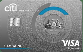 Citi PremierMiles Visa Card Review