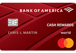 Bank of America® Cash Rewards for Students logo