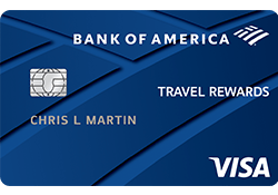Bank of America® Travel Rewards for Students logo