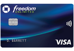 Chase Freedom Unlimited® logo