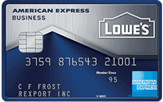 Lowe's Business Rewards Card from American Express review