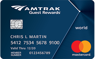 Amtrak Guest Rewards® World Mastercard® review