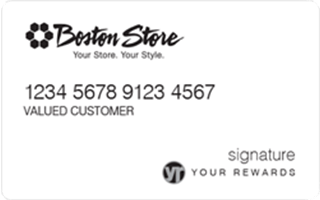 Review: Boston Store Credit Card