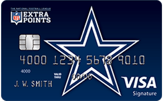 NFL Extra Points Dallas Cowboys credit card review
