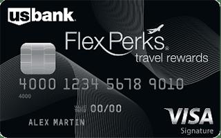 U.S. Bank FlexPerks®Travel Rewards®Visa Signature® Card review