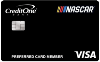 Official NASCAR® Credit Card from Credit One Bank® review