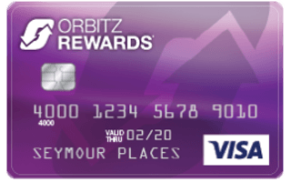 Orbitz Rewards® Visa Card review