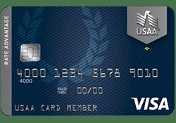 USAA® Rate Advantage Visa Platinum® Card logo
