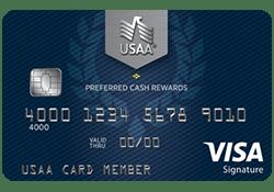 USAA® Preferred Cash Rewards Visa Signature® Card logo