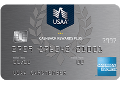 USAA® Cashback Rewards Plus American Express® Card logo