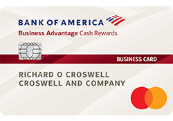 Bank of America® Business Advantage Cash Rewards Mastercard® credit card logo