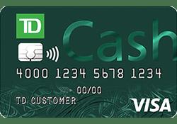 TD Cash Secured Credit Card