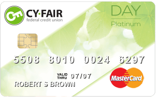 Cy-Fair Federal Credit Union Day Platinum Credit Card review