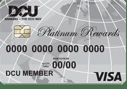 DCU Visa® Platinum Rewards Credit Card logo