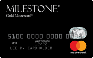 Milestone® Gold Mastercard® review