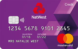 The NatWest Balance Transfer Credit Card (eligibility criteria apply)