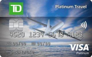 TD Platinum Travel Visa Card