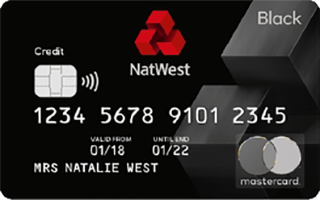 NatWest Reward Black Credit Card review April 2020