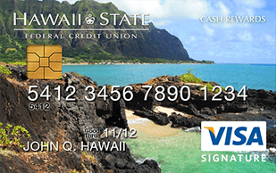 Hawaii State Visa Signature Cash Rewards Credit Card review