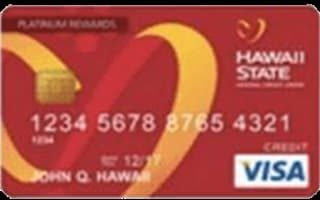 Hawaii State Visa Platinum Rewards Credit Card review