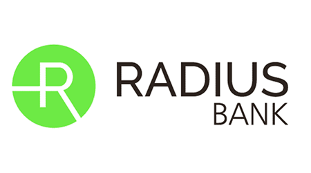 Radius Bank CDs logo