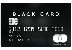 Luxury Card Mastercard® Black Card™ logo